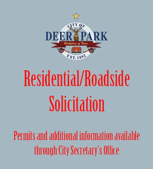 Residential-roadside solicitation
